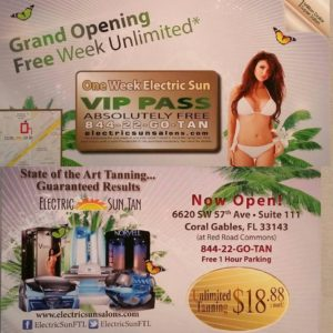 Coral Gables - Electric Sun Tanning Salons