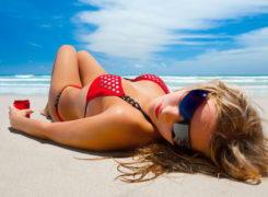 There are major differences between indoor and outdoor tanning